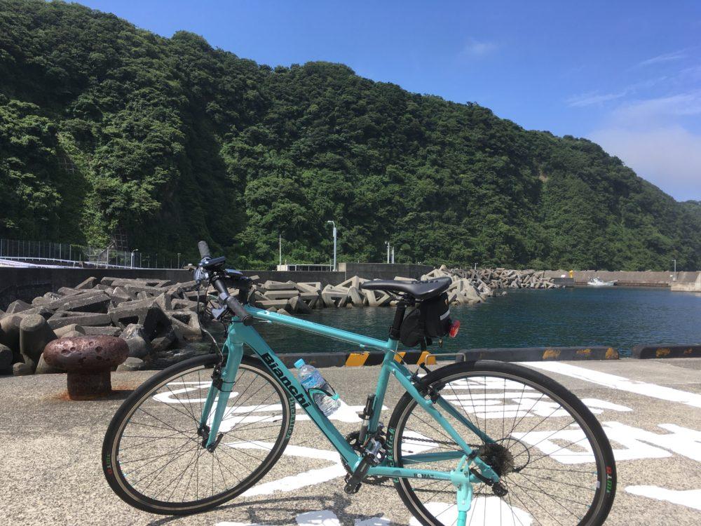 伊豆大島の岡田港で撮ったROMA3