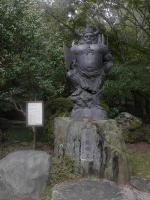 竹寺の牛頭天王像