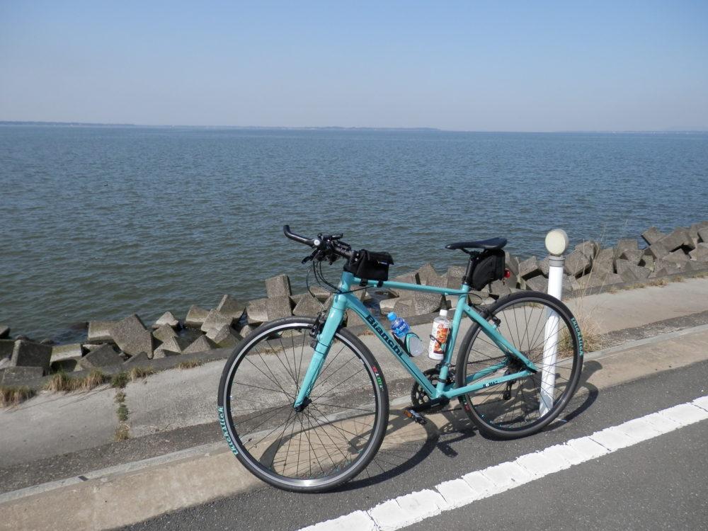 霞ケ浦一周サイクリング