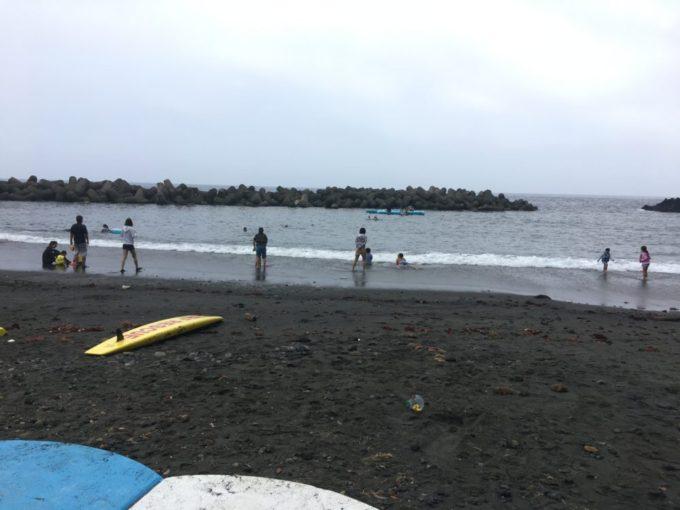伊豆大島の日の出浜