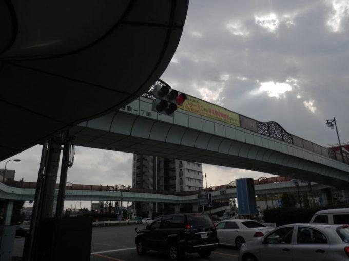 東京都練馬区の谷原交差点