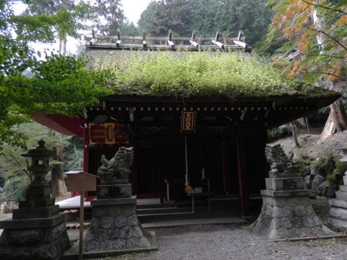竹寺の本殿
