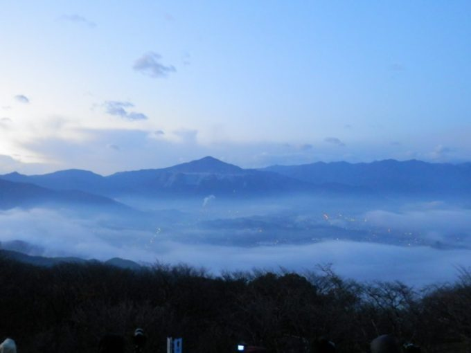 美の山の雲海