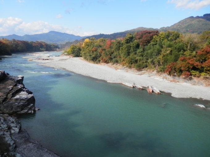 栗谷瀬橋から見た荒川
