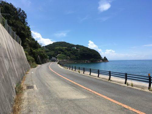 淡路島、県道31号線(淡路サンセットライン)