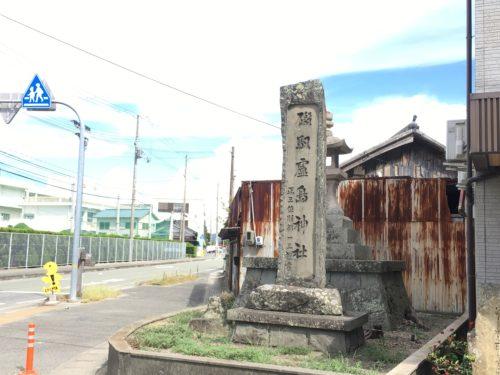 おのころ島神社参道入口