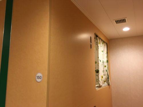 オーシャン東九フェリーの2等洋室