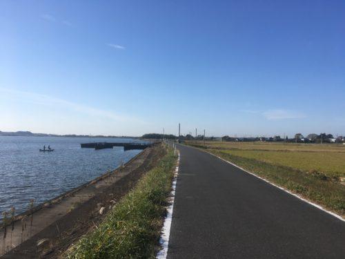 ロードバイクで霞ケ浦一周サイクリング