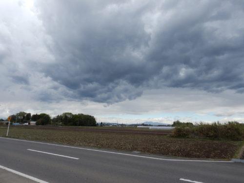 栃木県河内郡上三川町の十字路