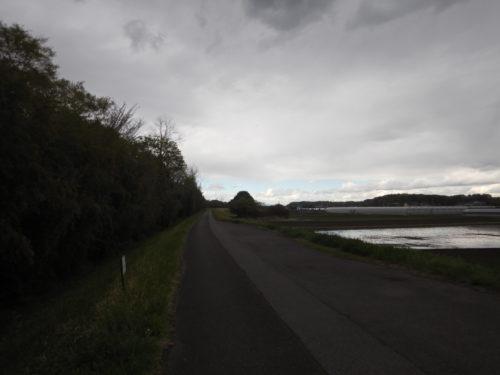 鬼怒川沿いのサイクリングロード