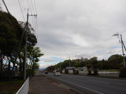 栃木県さくら市の国道4号沿い