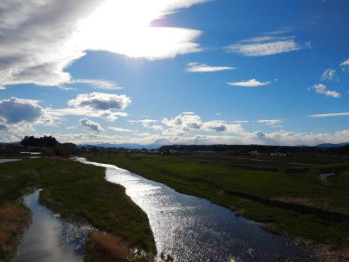 栃木県矢板市から見る荒川