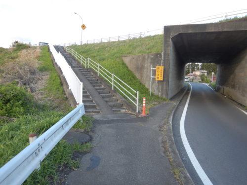 栃木県大田原市、国道4号の分岐点
