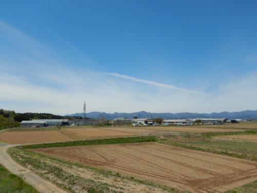 福島県郡山市安積町の景色