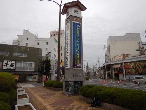 奥州市の水沢駅