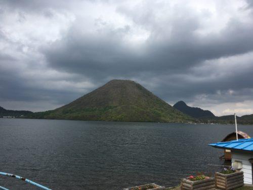 榛名湖の榛名富士