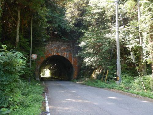 能登島のトンネル