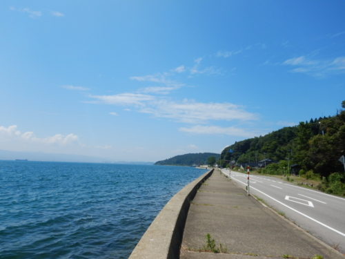 能登島の県道47号