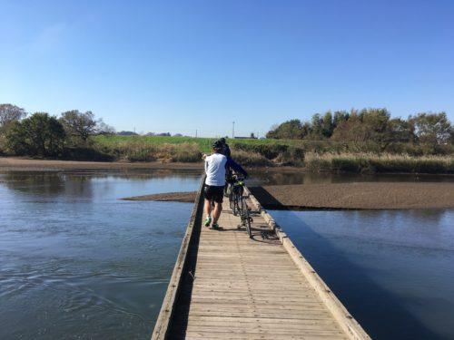 小貝川の小目沼橋