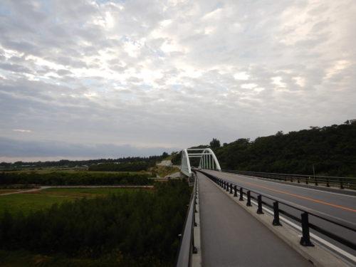 沖縄県の億首川に架かる橋