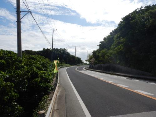 沖縄県南城市の国道331号
