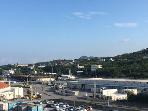 沖縄の本部港