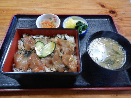 伊豆大島のべっこう丼