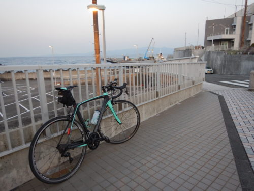 ロードバイクで大島観光協会
