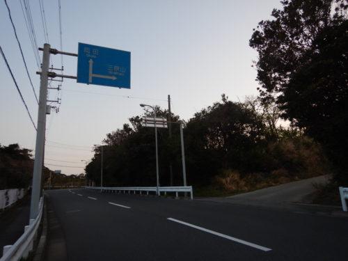 伊豆大島の都道207号
