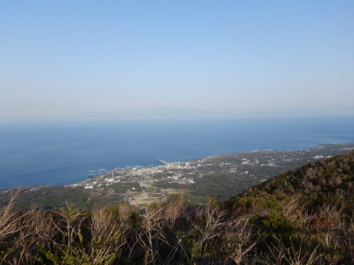 三原山山頂口展望台