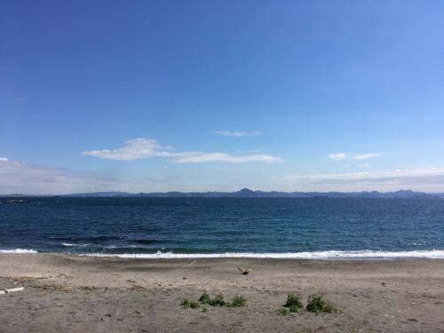 三浦半島の大浦海水浴場