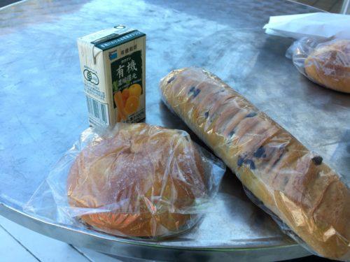 葉山マリーナのBoulangerieEnsembleのパン