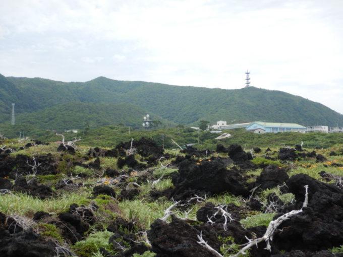 三宅島の阿古地区