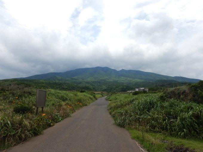 三宅島の雄山