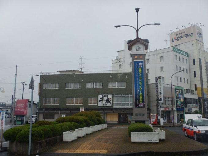岩手県の水沢駅