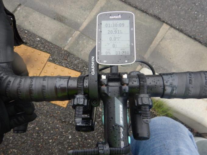 ロードバイク、ハンドル回り