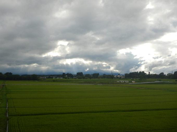 青森県十和田市の田んぼ