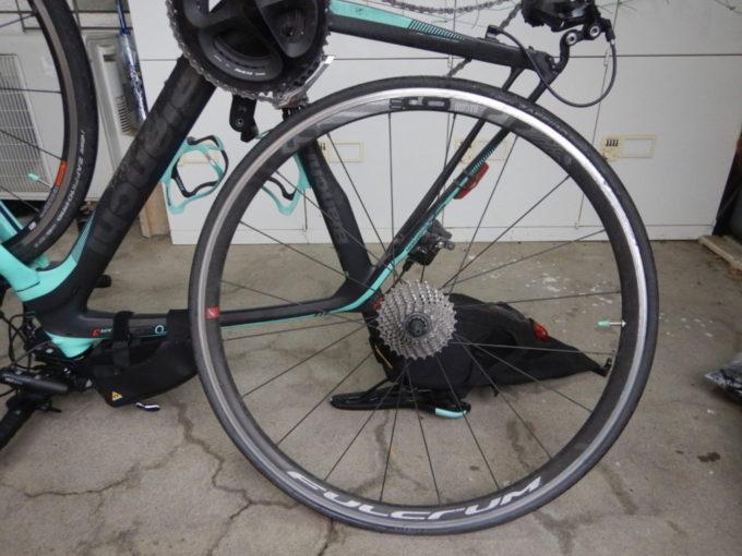 ロードバイクのチューブ交換