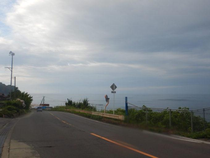 国道279号・むつはまなすラインを大間方面へ走る