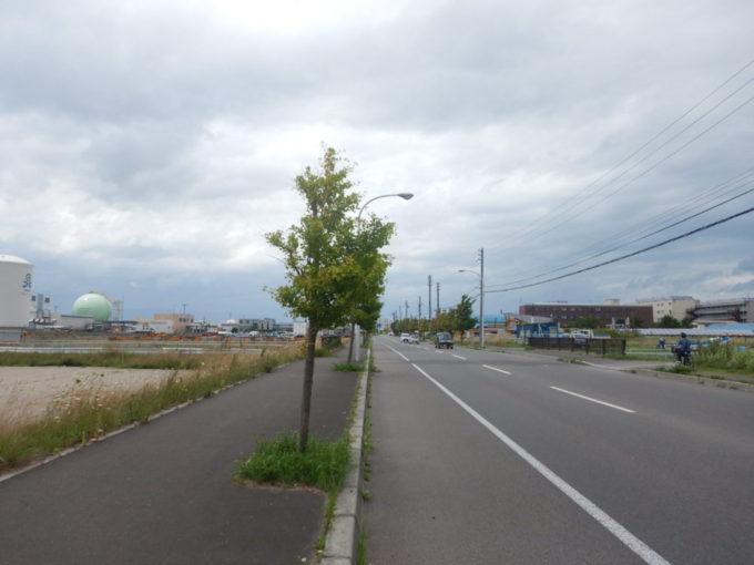 函館市内をサイクリング