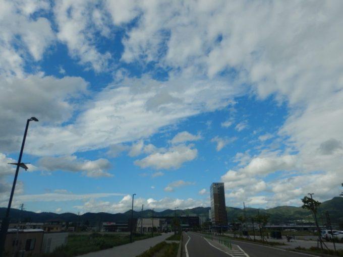 新函館北斗駅周辺の景色