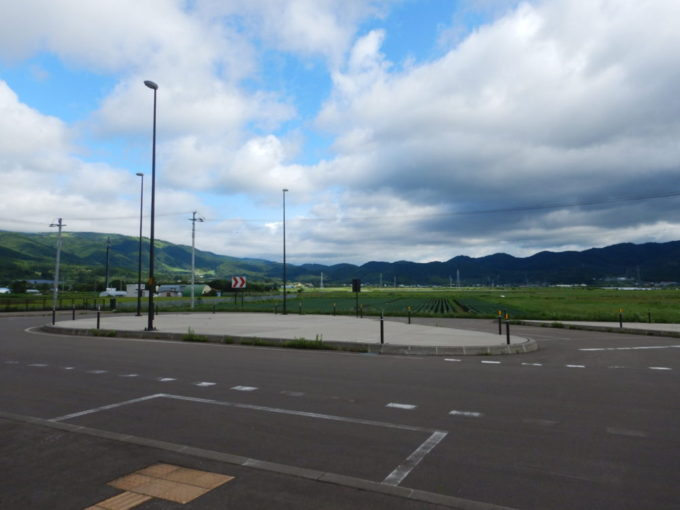 新函館北斗駅北口の景色