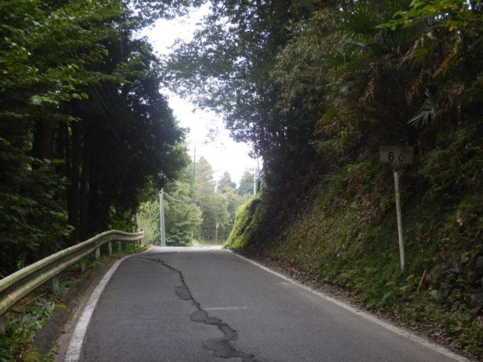白石峠、起点から6km地点