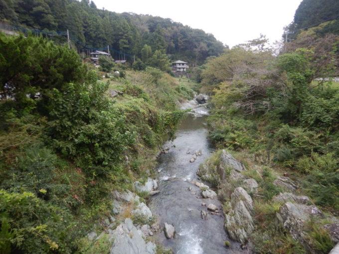 ときがわ町、越瀬橋から見る都幾川