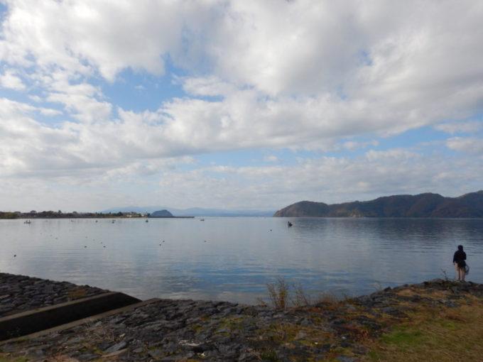 琵琶湖の湖北