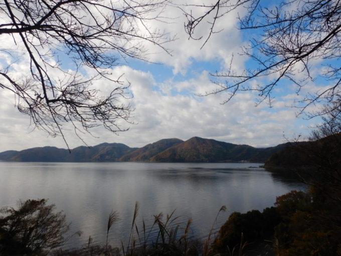 県道514号・飯之浦大音線から琵琶湖を眺める