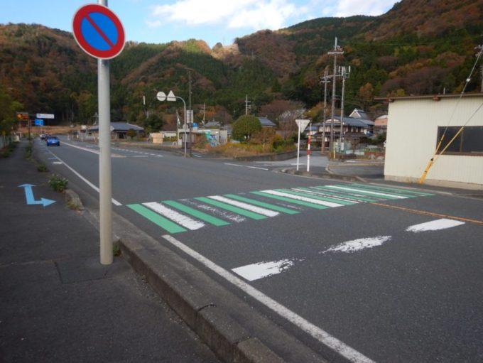 道県道514号・飯之浦大音線と国道303号の合流地点