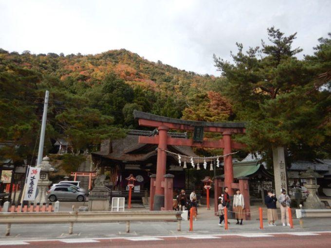 滋賀県の白髭神社