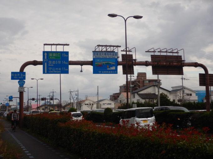 滋賀県の琵琶湖大橋