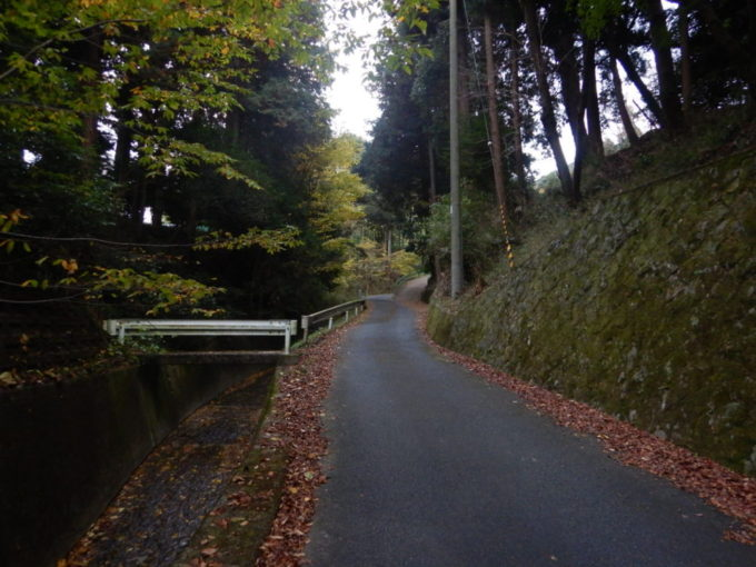 滋賀県大津市の古い道